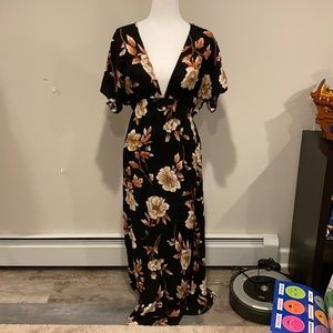 Forever 21 floral maxi